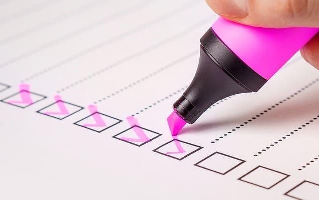 Checklist de SEO con los factores más importantes
