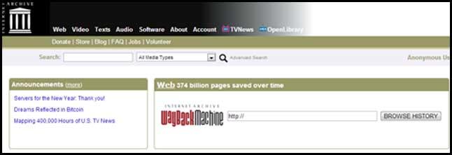 comprar dominios archive org