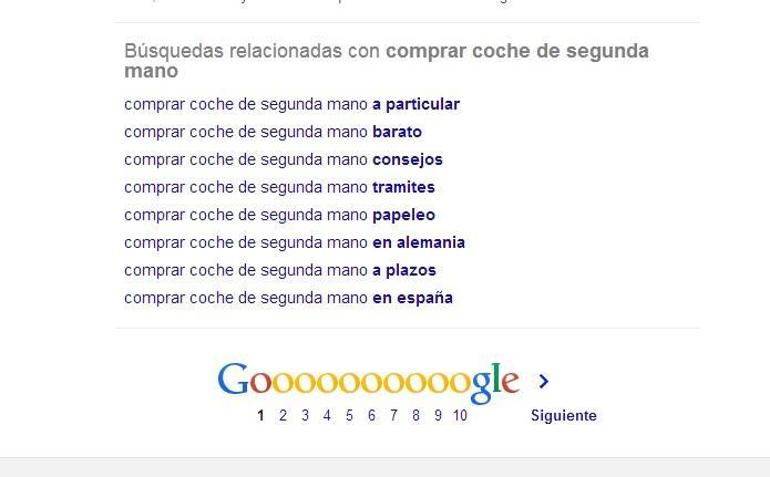 herramienta busquedas relacionadas google