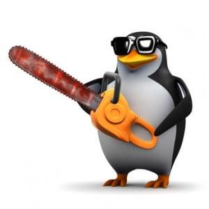 Hostorial de actualizaciones de Penguin